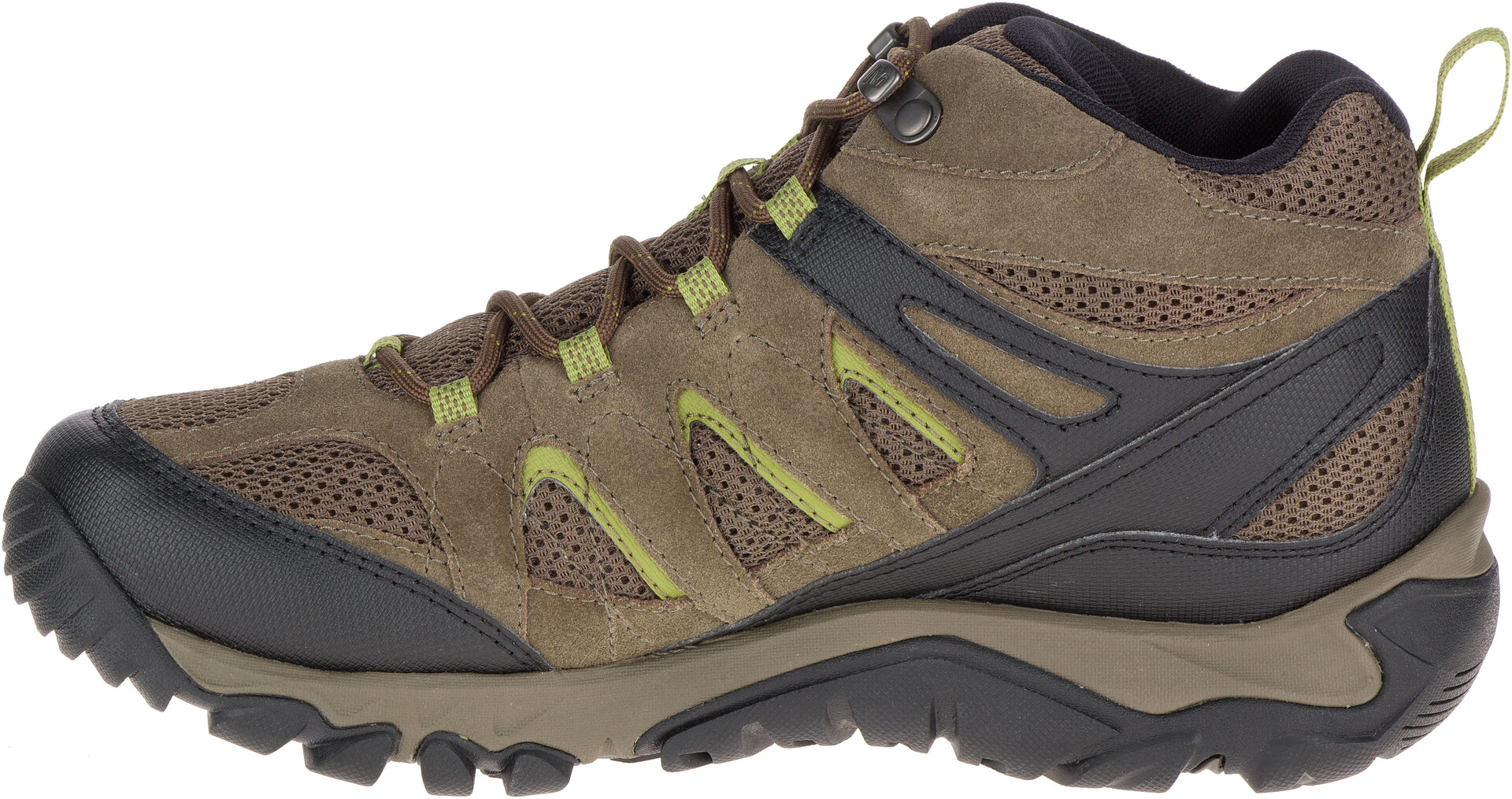 Merrell OUTMOST MID VENT GTX Brown Shoes Hiking shoes Men